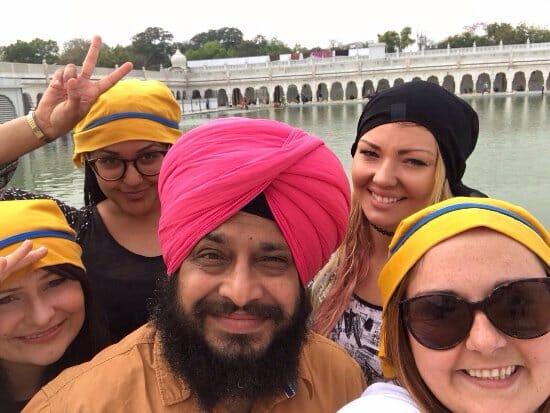 Let's Go India Tour Photos